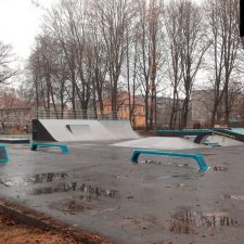 Фото: скейт парк в Советске - FK-ramps