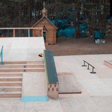 Скейт парк у Селигера от FK-ramps