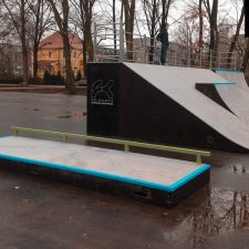 Фото: скейт парк в Советске от FK-ramps