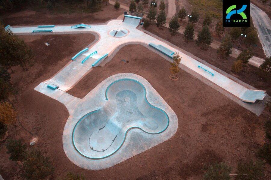 Бетон для скейтпарка розетка для бетона