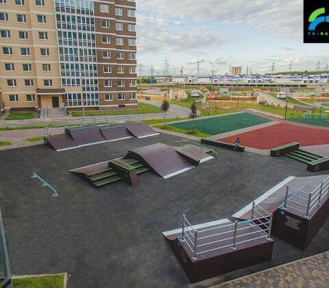 Скейт парк в Татьянином парке, Москва - FK-ramps