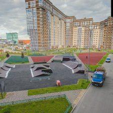 Скейт парк в ЖК «Татьянин Парк» (Москва) от FK-ramps