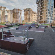 Скейт парк в ЖК «Татьянин Парк» от FK-ramps в Москве