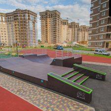 Фото: скейт парк в Татьянином парке - FK-ramps