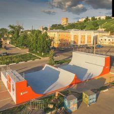 Рампа МТС в Нижнем Новгороде: FK-ramps - производство скейт парков