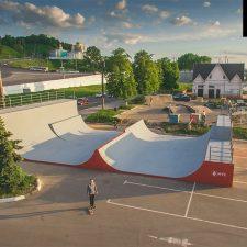 Рампа МТС в Нижнем Новгороде: скейт парк от FK-ramps