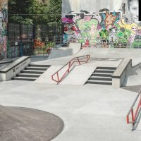 Производство бетонных скейт парков - FK-ramps