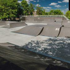 Скейт парк в Алтуфьево в Москве от FK-ramps