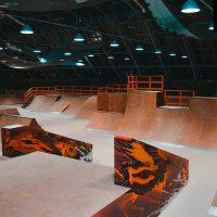 Крытый скейт парк от FK-ramps