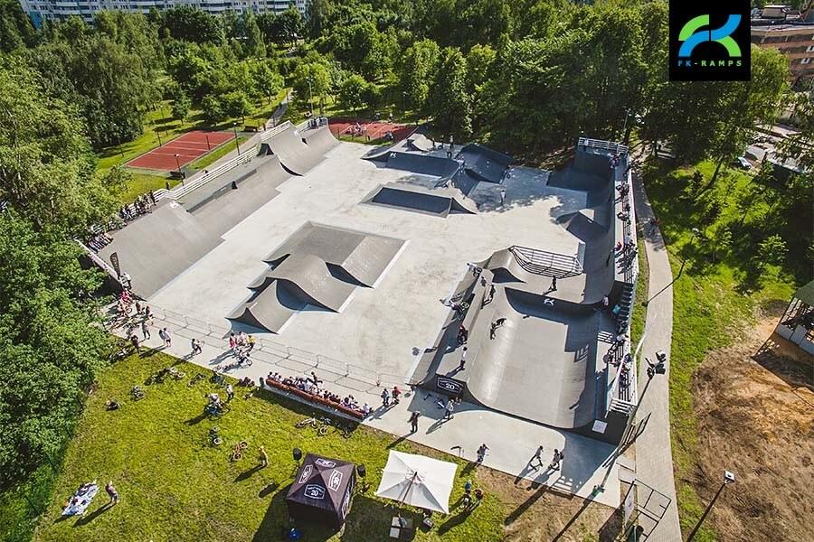 BMX парк в Алтуфьево отFK‑ramps