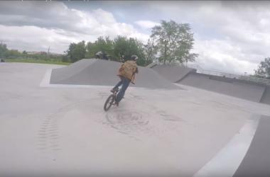 первый обзор BMX парка в алтуфьево