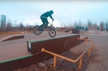 Тренировка Кости Андреева в парке 300 летия Санкт-Петербурга