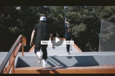 Обкатка скейт-парка МТС в парке Победы, СПб