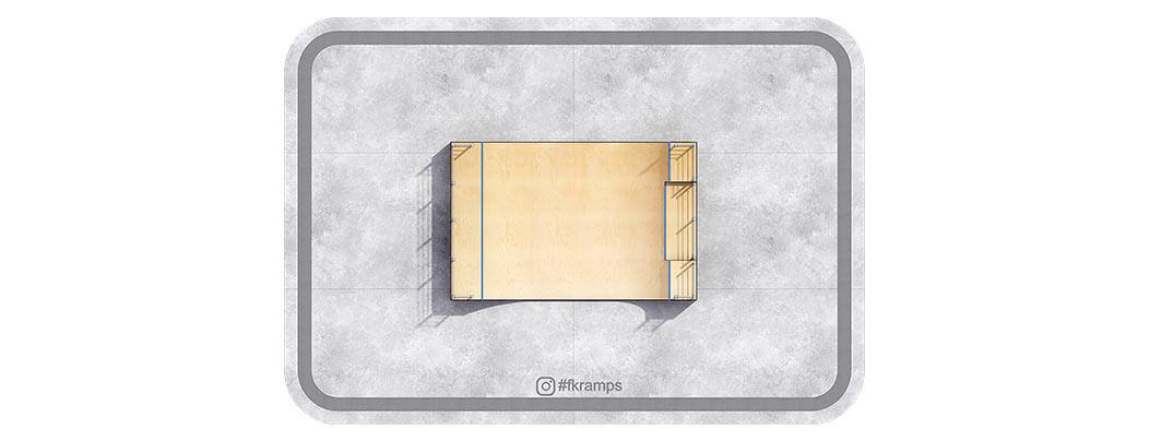 Производим рампы для скейта РД-06 на деревянном каркасе - FK-ramps