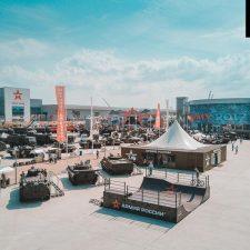 Деревянная рампа для Армии России