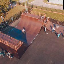 Деревянный скейт парк в Зеленограде - FK-ramps