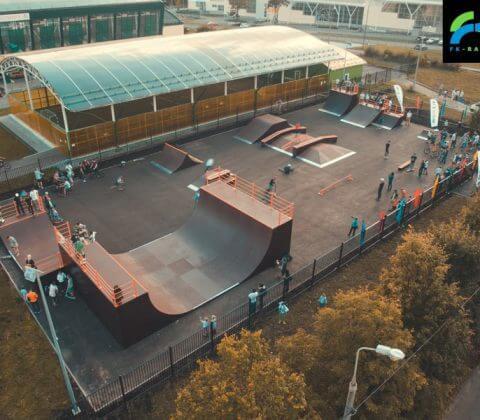 Фото: скейт парк в Зеленограде от FK-ramps