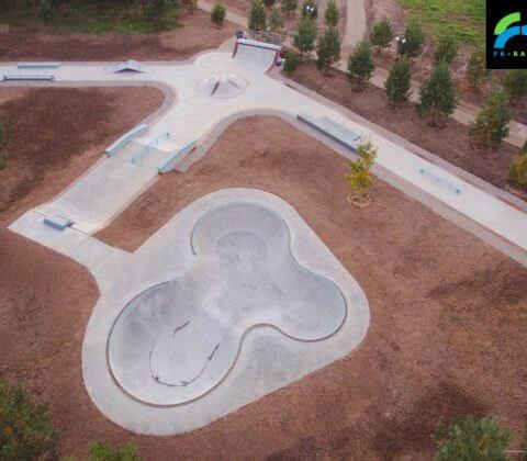 Скейт парк в Доброграде, Владимирская область от FK-ramps