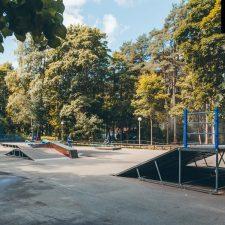 Скейт парк в Зеленогорском парке, Санкт-Петербург - FK-ramps