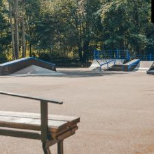 Скейт пСкейт парк в Зеленогорском парке- FK-ramps