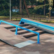Фото: скейт парк в Зеленогорском парке- FK-ramps