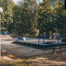 Скейт парк в Зеленогорском парке- FK-ramps