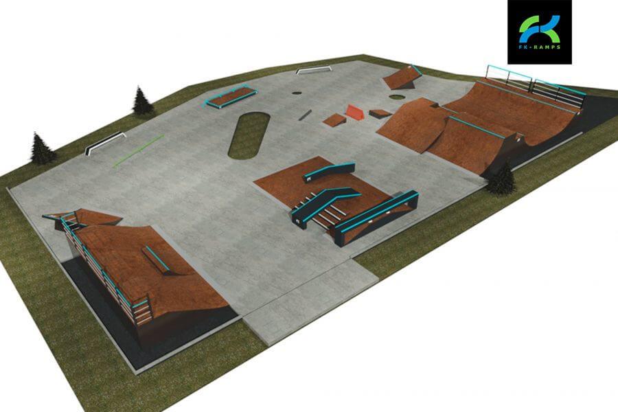 Анонс монтажа скейтпарка в с.Красная Пахра