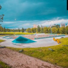 Скейт парк в Бабушкинском парке, Москва от FK-ramps