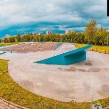 Скейт парк в Бабушкинском парке от FK-ramps