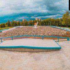 Бетонный скейт парк в Бабушкинском парке - FK-ramps