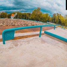 Бетонный скейт парк в Бабушкинском парке от FK-ramps