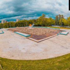 Фото: скейт парк в Бабушкинском парке - FK-ramps