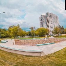 Фото: скейт парк в Бабушкинском парке от FK-ramps
