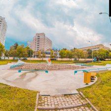 Скейт парк в Бабушкинском парке - FK-ramps