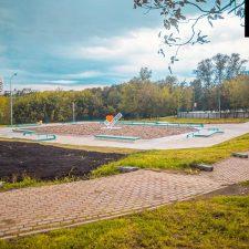 БетоСкейт парк в Бабушкинском парке - FK-rampsнный скейт-парк в Бабушкинском ПКиО