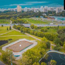 Скейт парк в Бабушкинском парке, Москва - FK-ramps