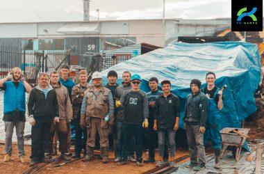 Расширение завода FK-ramps. Пандус для отгрузки скейтпарков.