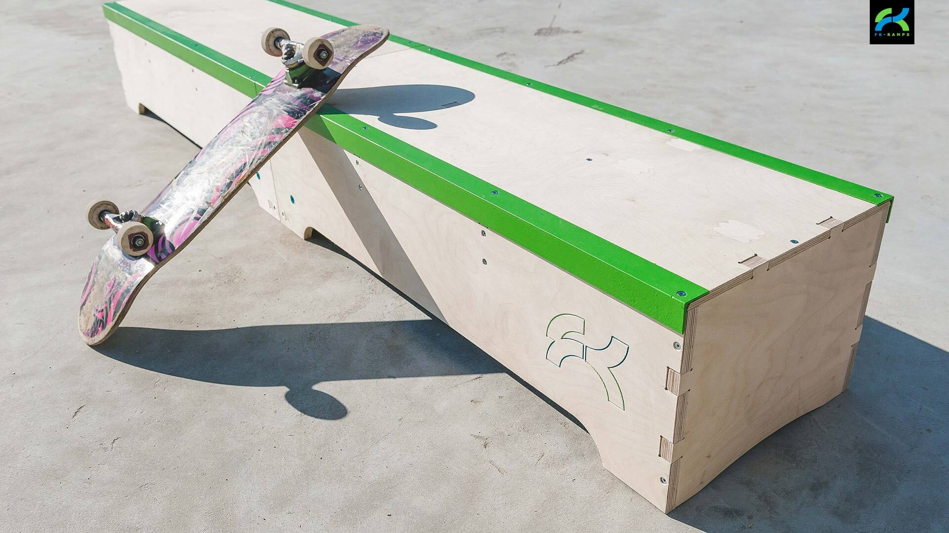 Купить набор для трюков на скейте от FK-ramps