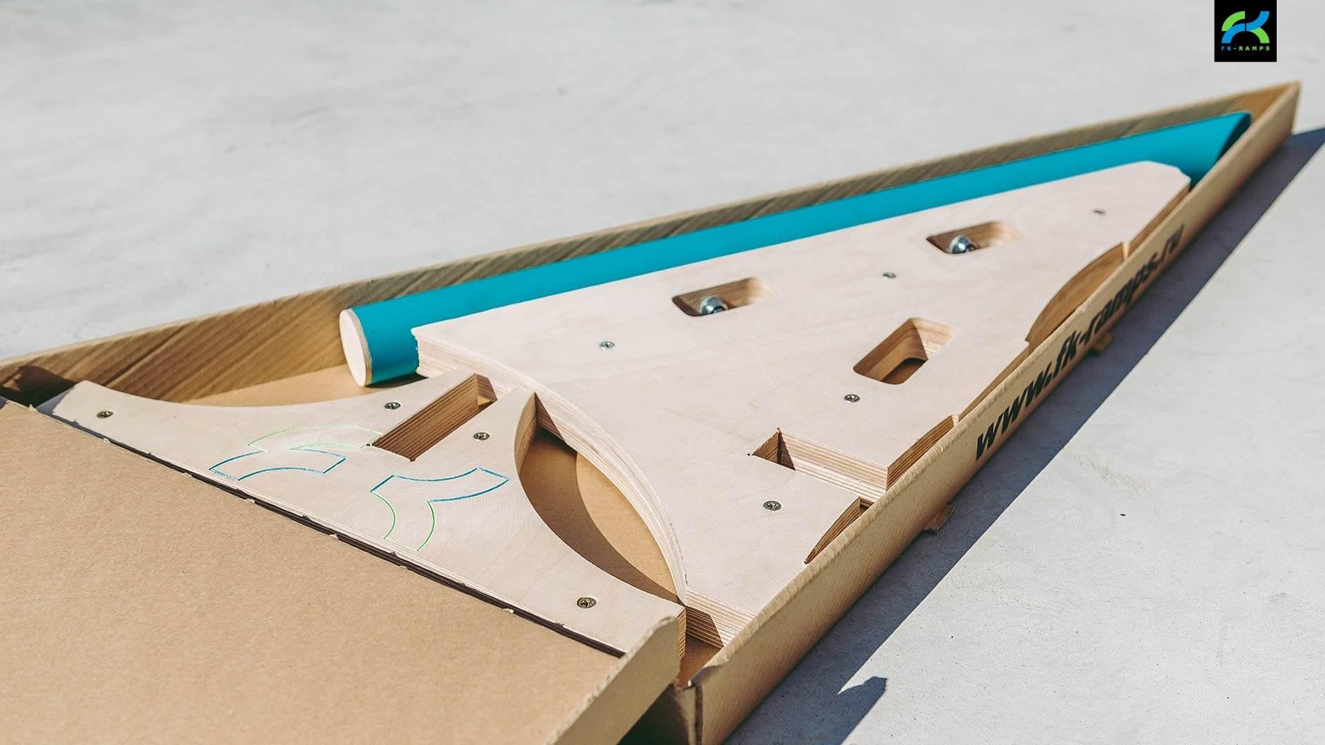 Набор для трюков на скейте - FK-ramps