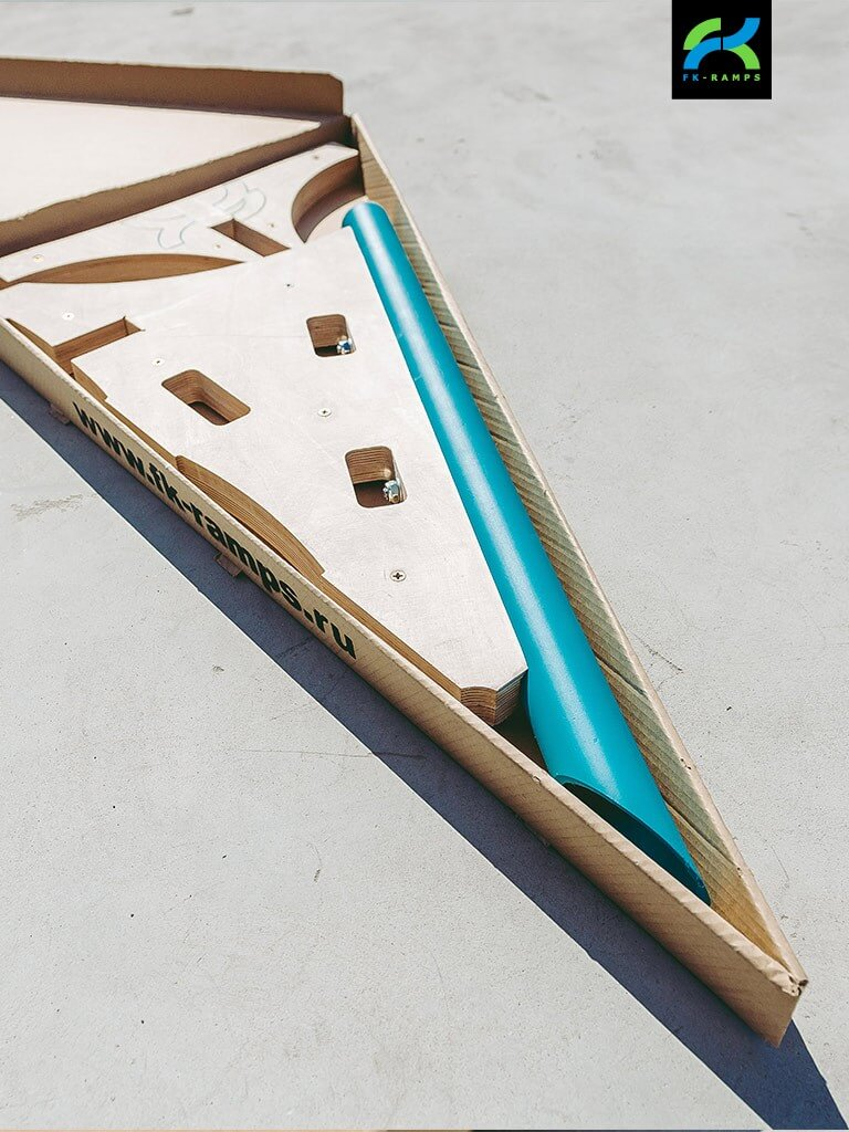 Наборы для трюков на скейте от FK-ramps