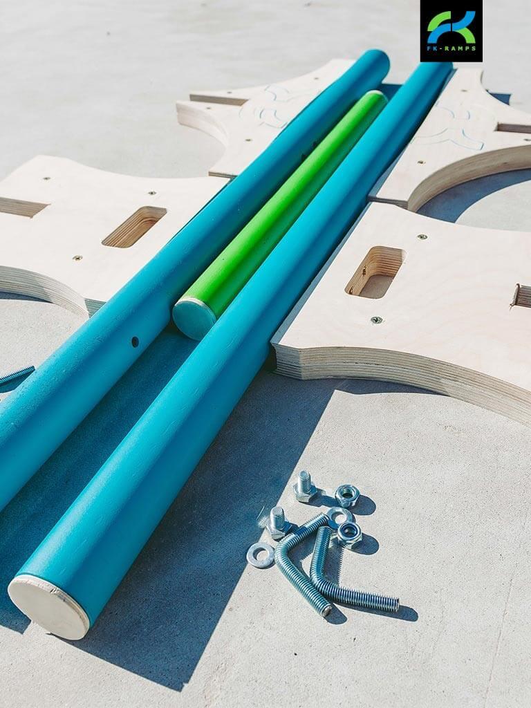 Мобильные наборы для катания на роликах от FK-ramps