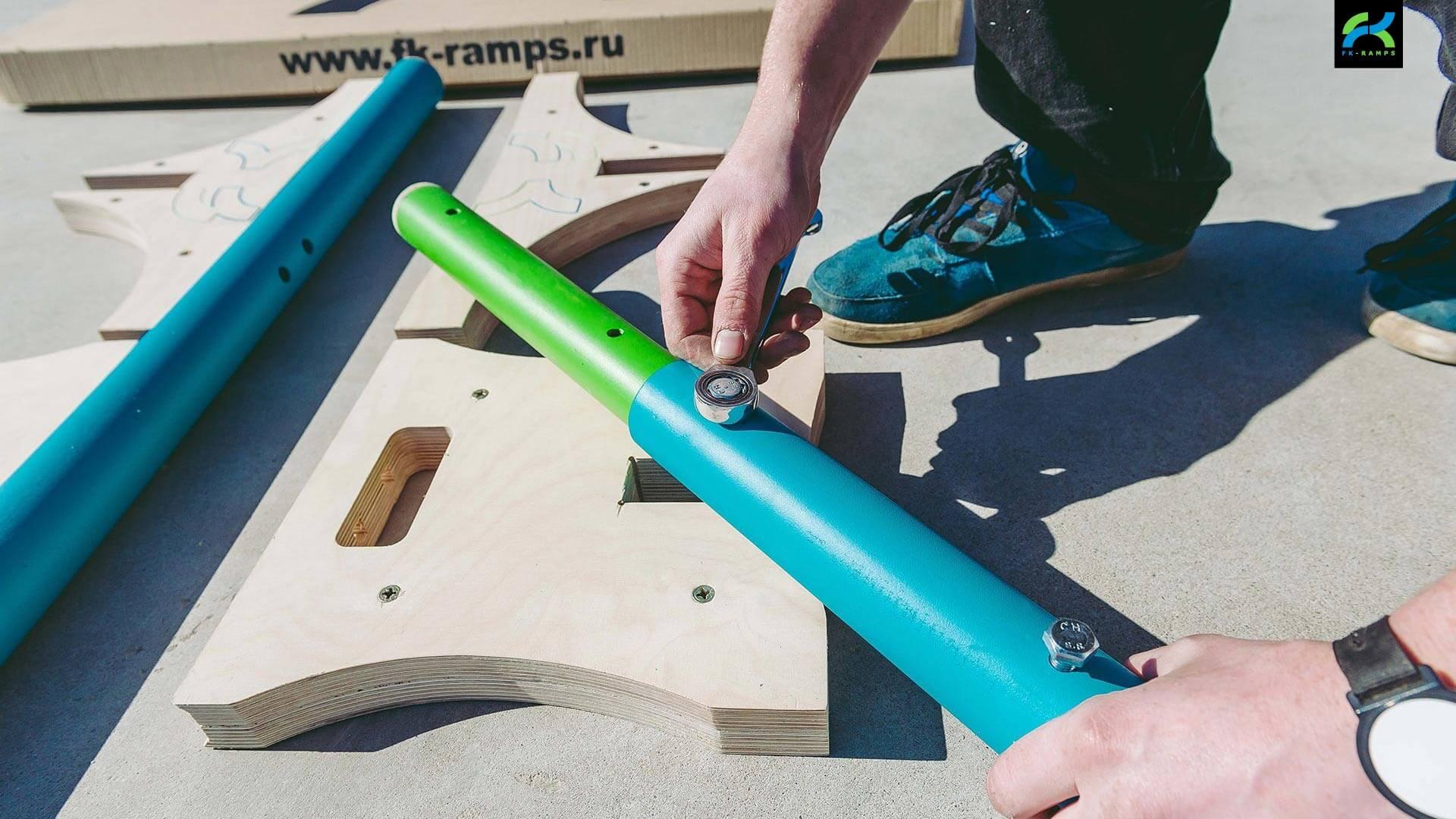 Набор для трюков на bmx - FK-ramps