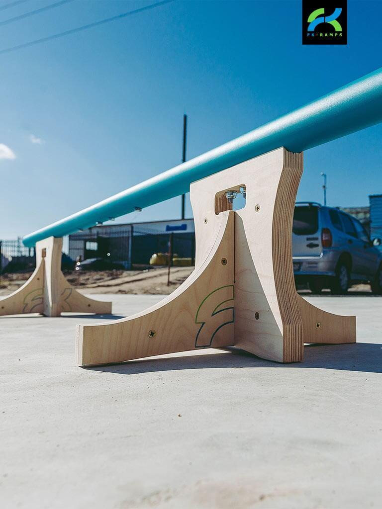 Мобильные наборы для катания на скейтборде от FK-ramps