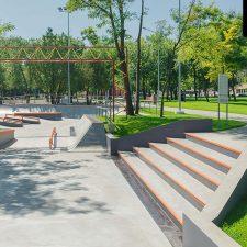 Скейт парк в Одессе : грани, перилы, рейл, радиус, пул, боул - FK-ramps