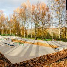 Скейт парк в Клину, Московская область - FK-ramps