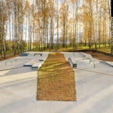 Скейт парк в Клину, Московская область от FK-ramps