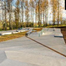 Бетонный Скейт парк в Клину, Московская область от FK-ramps