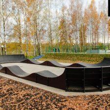 Бетонный Скейт парк в Клину от FK-ramps
