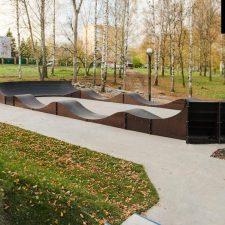 Бетонный скейт-парк в Клину