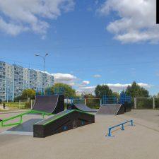 ДСкейт парк в Чехове, Московская область - FK-ramps